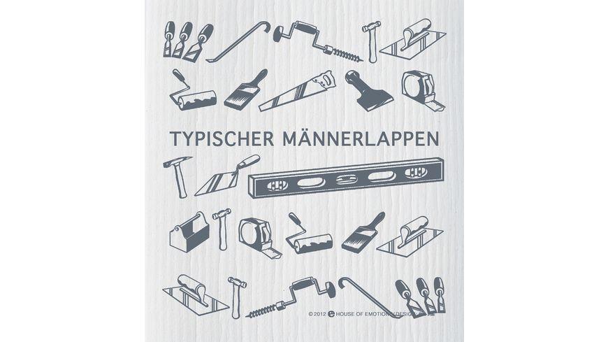 HOUSE OF EMOTIONS Spuellappen Maennerlappen