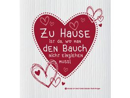 HOUSE OF EMOTIONS Spuellappen Bauch einziehen