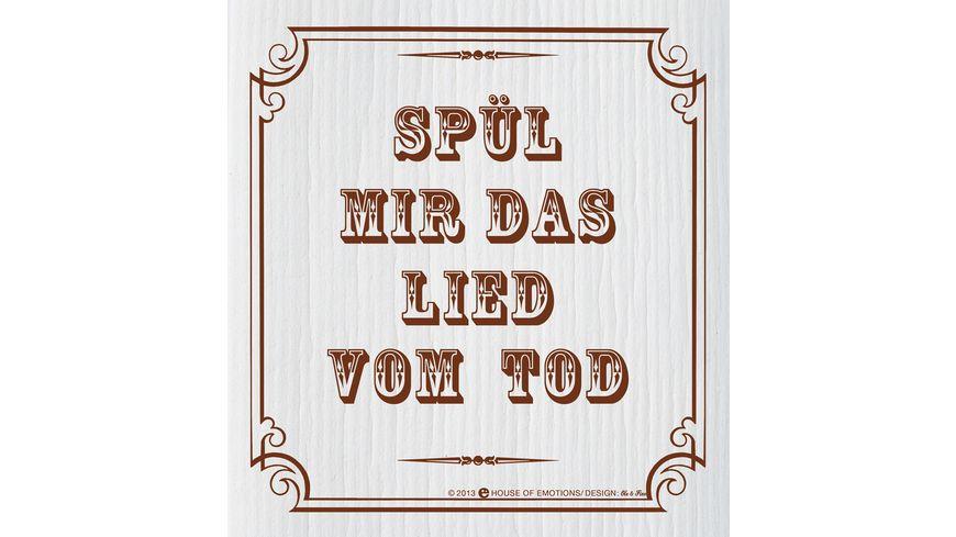 HOUSE OF EMOTIONS Spuellappen Spuel mir das Lied vom Tod