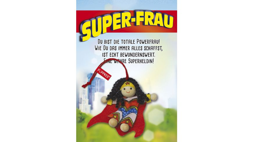 JOJO Pueppkes Super Frau