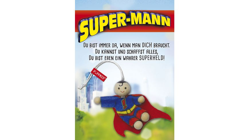 JOJO Püppkes Super Mann