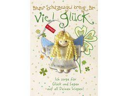 JOJO Pueppkes Viel Glueck Schutzengel