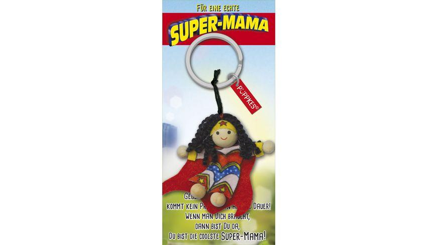 JOJO Pueppkes Schluesselanhaenger Super Mama