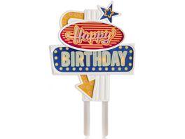 Suck UK Happy Birthday Kuchendekoration