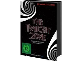 The Twilight Zone Die komplette Serie Keepcase 30 Blu rays