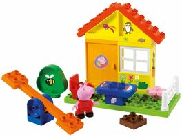 BIG BIG Bloxx Peppa Pig Garden House