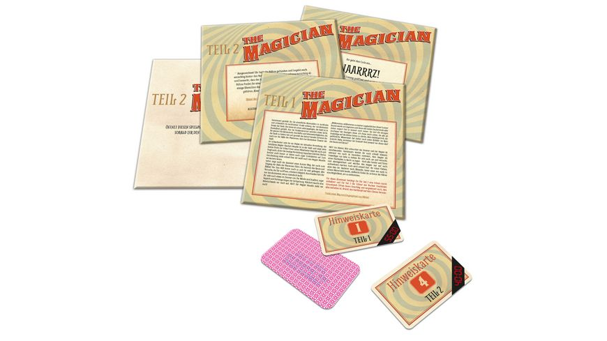 Noris Spiele Escape Room Magician