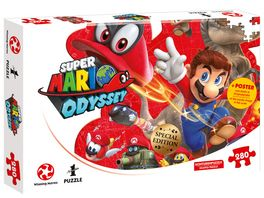 Winning Moves Puzzle Super Mario Odyssey Mario and Cappy 360 Teile