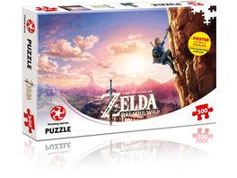 Winning Moves Puzzle Zelda Breath of the Wild 500 Teile
