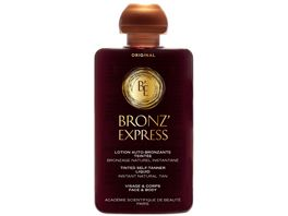 Academie beaute Bronz Express Lotion Auto Bronzante Teintee