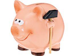 Sparschwein mit Hammer gross