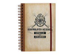 Harry Potter Hogwarts School Notizbuch