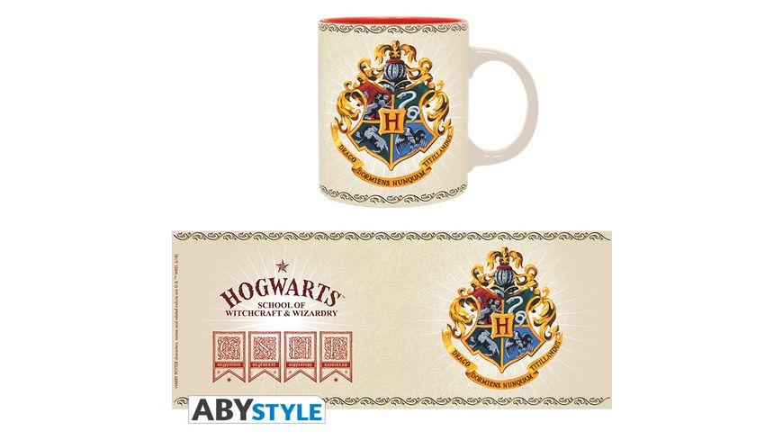 Harry Potter Hogwarts 4 Houses Tasse 320 ml