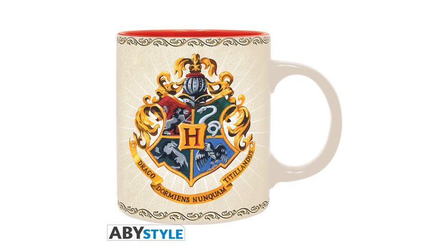 Harry Potter Hogwarts 4 Houses Tasse 320 ml