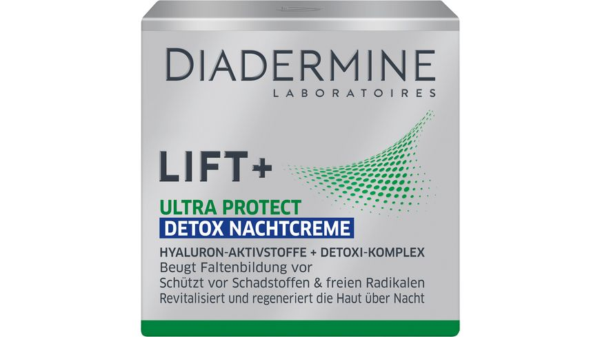 DIADERMINE Lift Nachtpflege Ultra Protect Detox Nachtcreme