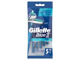 Gillette BlueII Plus Einwegrasierer 5er Pack