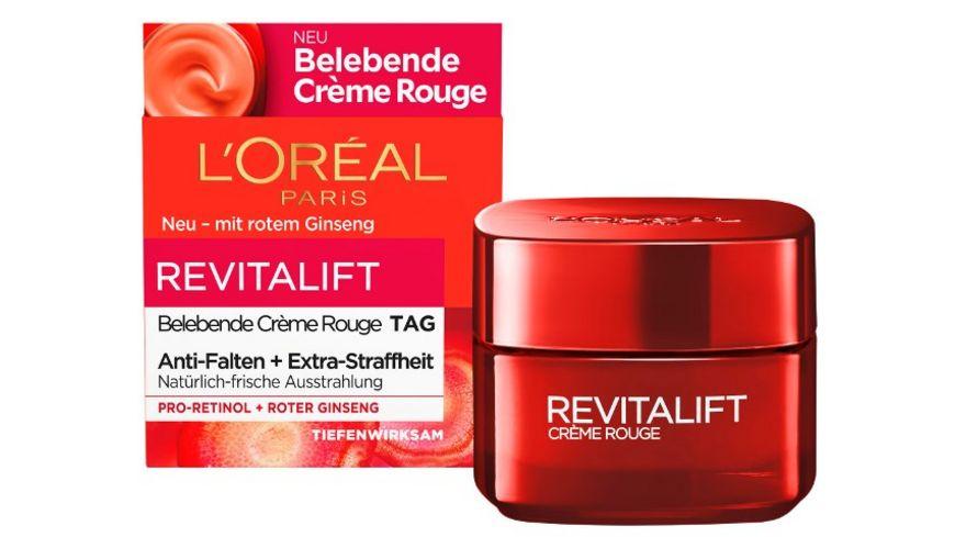 L OREAL PARIS REVITALIFT Belebende Creme Rouge Tagespflege mit rotem Ginseng