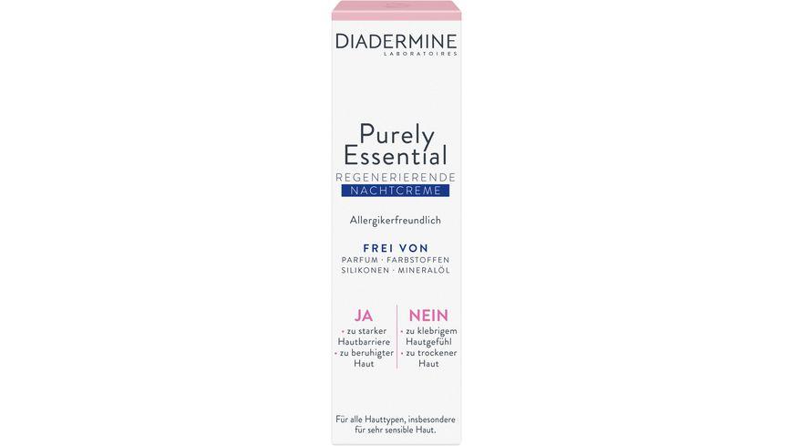DIADERMINE Purely Essential Nachtpflege Nachtcreme
