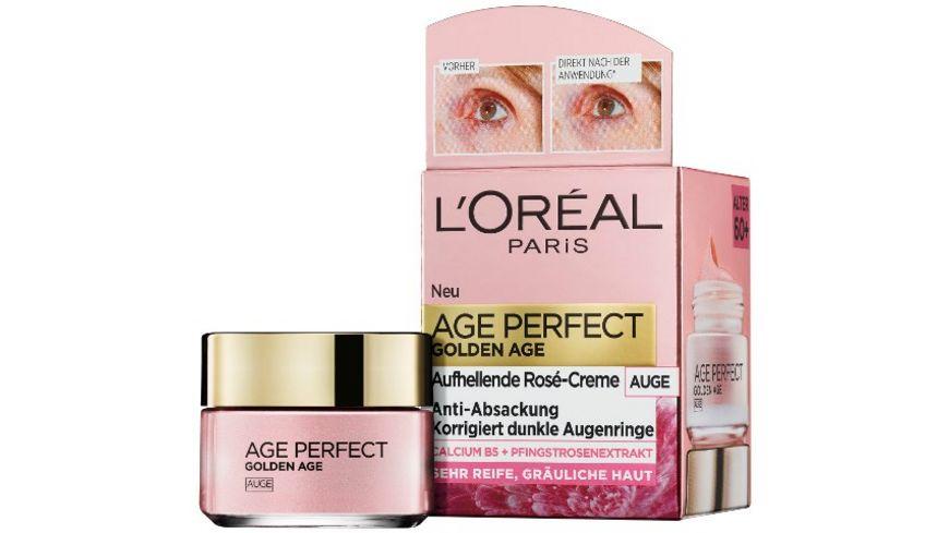 L OREAL PARIS AGE PERFECT Golden Age Rose Augenpflege
