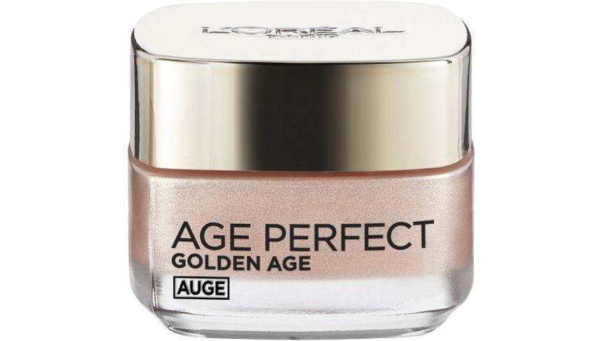 L OREAL PARIS Age Perfect Golden Age Rose Augenpflege mit Calcium B5 und Pfingstrosenextrakt