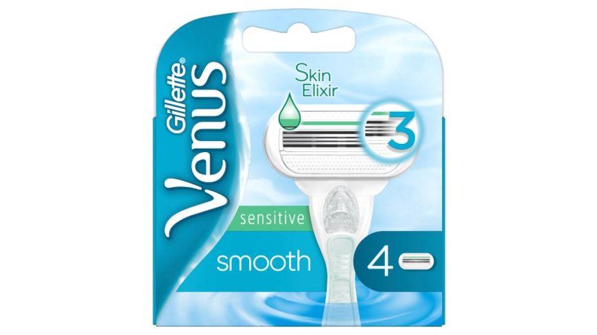 Gillette Venus Smooth Sensitive Rasierklingen