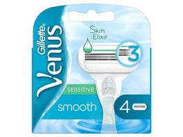 Gillette Venus Smooth Sensitive Rasierklingen 4er