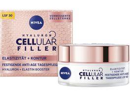 NIVEA Hyaluron Cellular Filler Elastitaet Kontur Festigende Anti Age