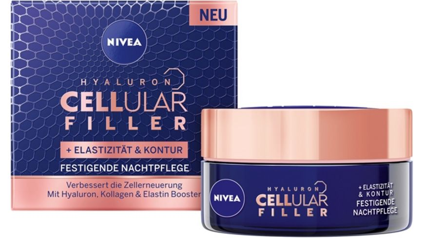 NIVEA Cellular Elastizitaet Kontur Nachtpflege