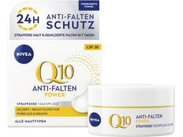 NIVEA Q10 Power Anti Falten Straffung Tagespflege Normale Haut LSF30 50ml