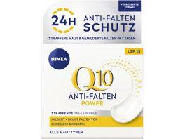 NIVEA Q10 Power Anti Falten Straffung Tagespflege Normale Haut LSF15 50ml