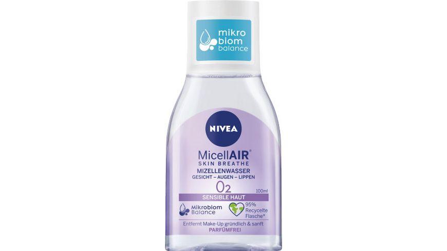 NIVEA MicellAir Skin Breathe Mizellenwasser Sensible Haut Mini 100ml