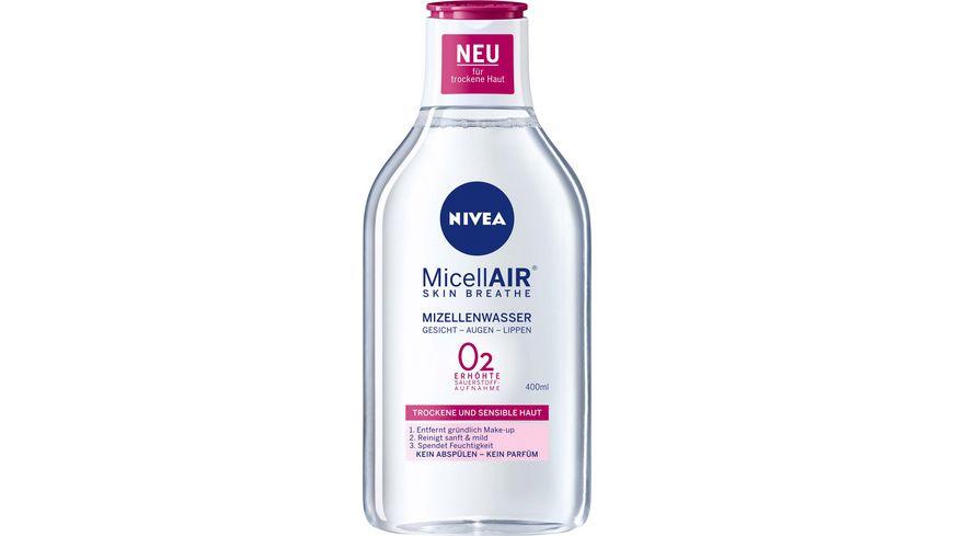 NIVEA MicellAIR Mizellenwasser trockene Haut