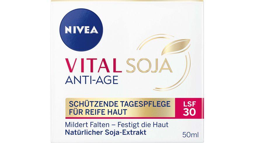 NIVEA Vital Soja Anti Age Schuetzende Tagespflege LSF30