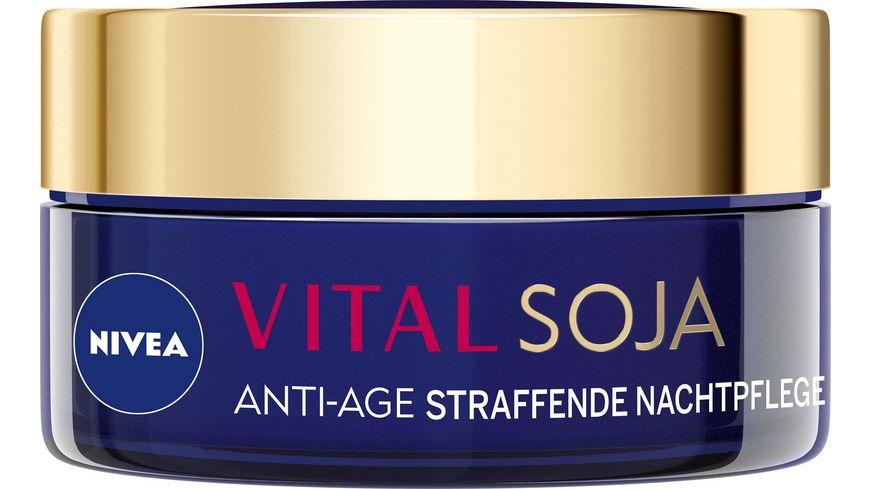 NIVEA Vital Soja Anti Age Straffende Nachtpflege