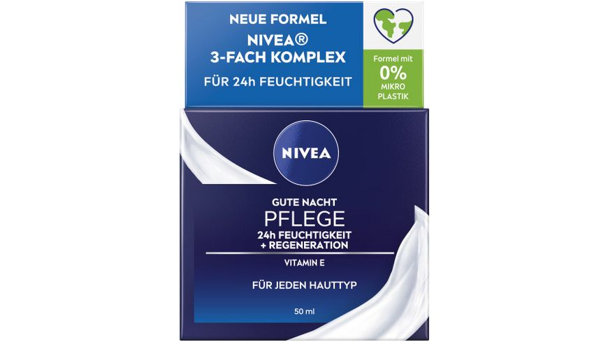 NIVEA Essentials Gute Nacht Pflege Regeneration
