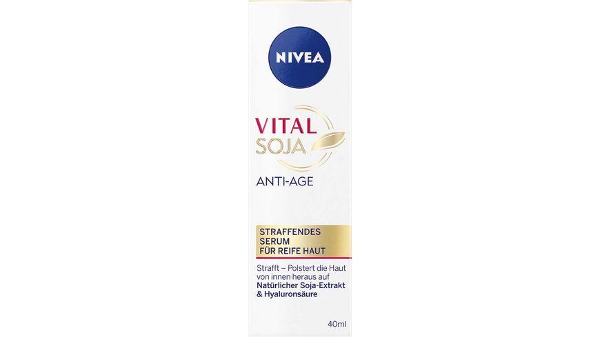 NIVEA Vital Soja Anti Age Straffendes Serum
