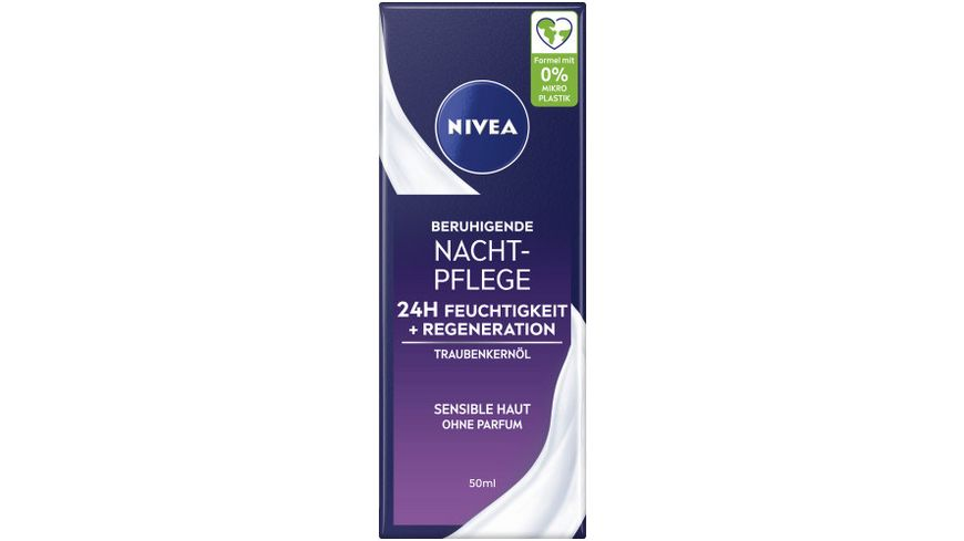 NIVEA Essentials Sensitive Nachtpflege
