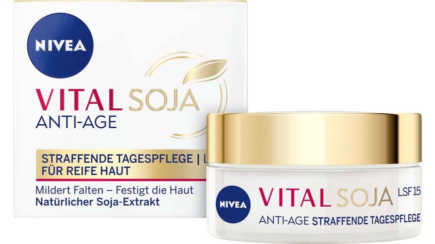 NIVEA Vital Soja Anti Age Straffende Tagespflege LSF15