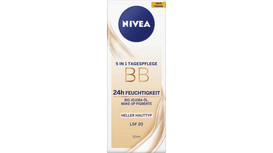 NIVEA 5in1 Tagespflege BB Hell LSF20