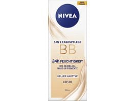 NIVEA Essentials 5in1 Tagespflege BB Hell LSF15