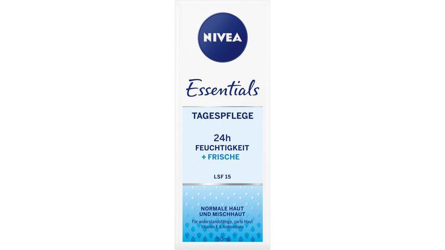 NIVEA Essentials Frische Tagespflege LSF15