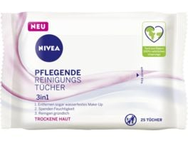 NIVEA Pflegende Reinigungstuech 25 Stueck