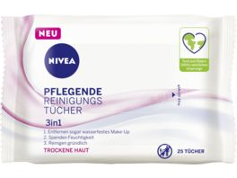 NIVEA Pflegende Reinigungstuecher 25 Stueck