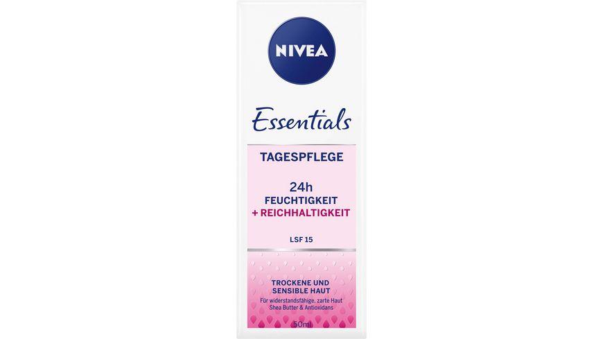NIVEA Essentials Reichhaltige Tagespflege LSF15