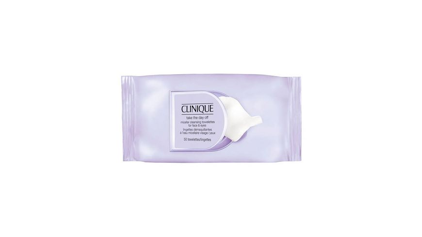 Clinique Take The Day Off Micellar Cleansing Towelettes For Face Eyes