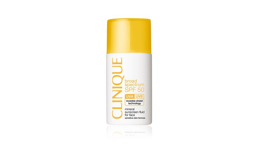 Clinique SPF50 Mineral Fluid For Face