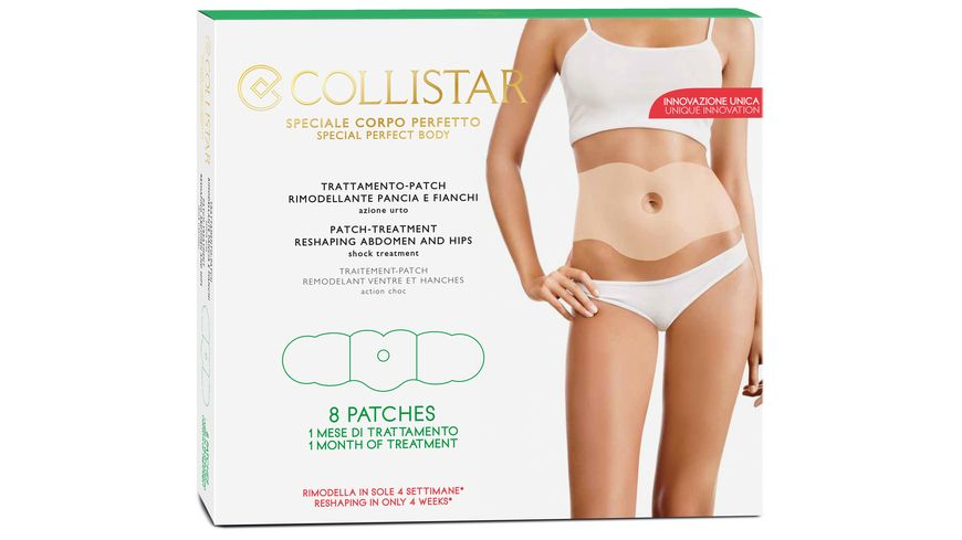 COLLISTAR Firming Reshaping Patch Treatment Abdomen And Hips Shock Treatment