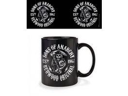 Sons of Anarchy Redwood Original Keramik Tasse