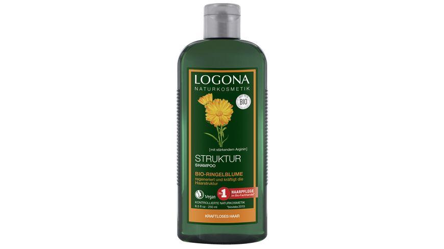 LOGONA Struktur Shampoo Bio Ringelblume