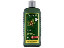 LOGONA Glanz Shampoo Bio Arganoel